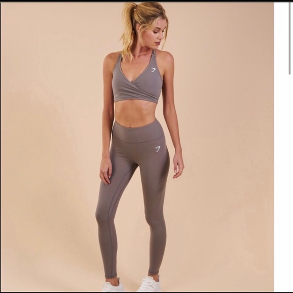 fbcff63ab2336 Gymshark Pants | Dreamy Leggings Nwt Slate Grey | Poshmark